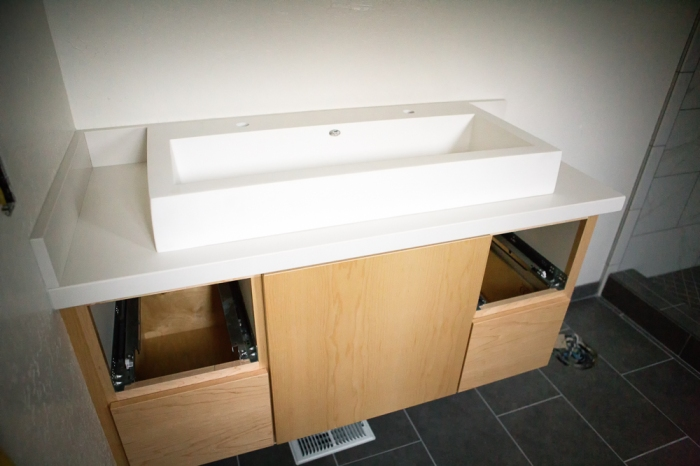 Master Bathroom Trough sink