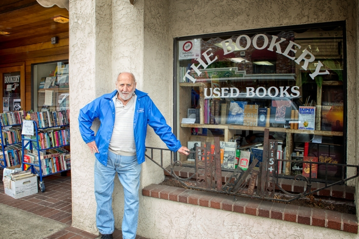 Tourist at The Bookery