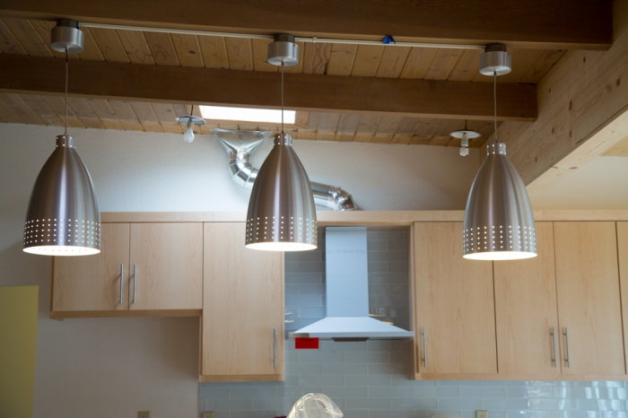 Pendant lighting at differing heights...again