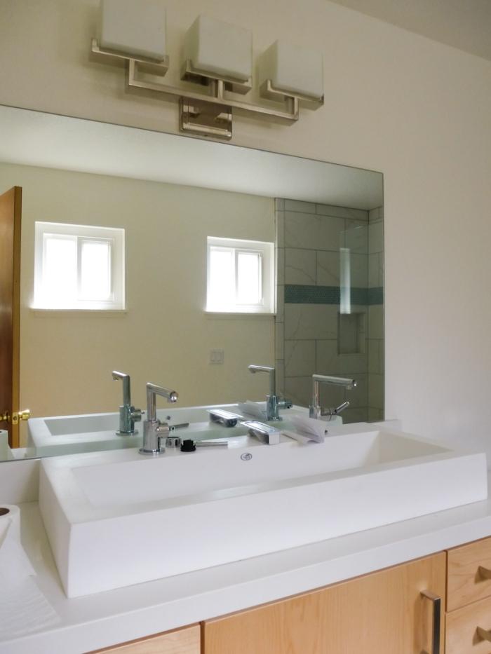 Master Bath new mirror